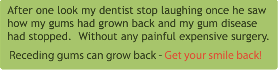 Grow Back Receding Gums Naturally At Home